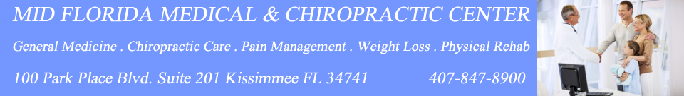 Kissimmee Chiropractor Kissimmee primary Physician